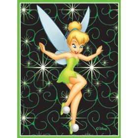 Tinkerbell Non Skid Area Rug